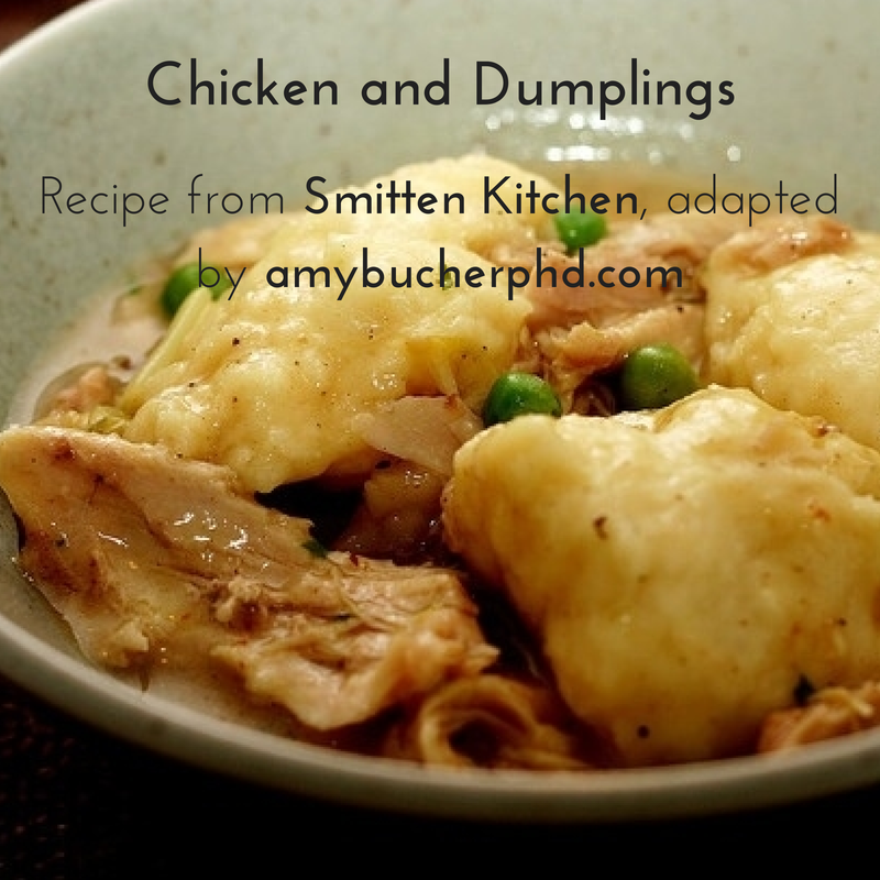 Recipe Chicken And Dumplings From Smitten Kitchen Amy