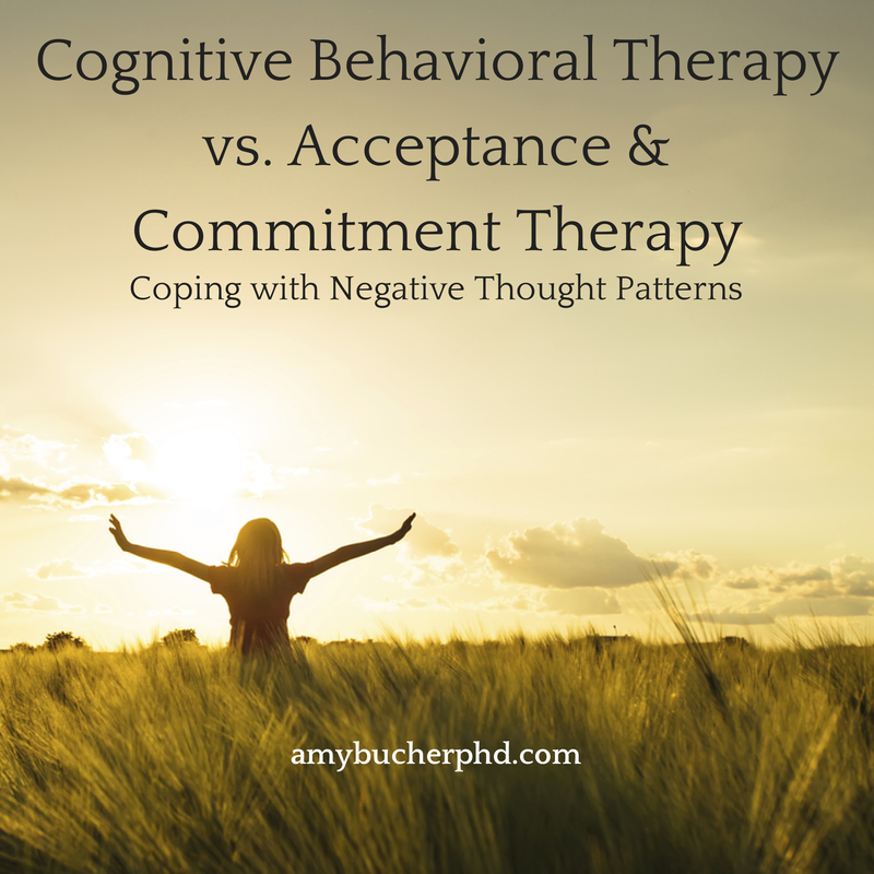 Cognitive Behavioral Therapy vs.