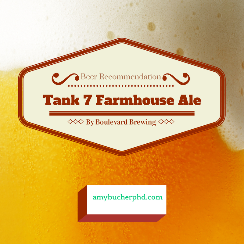 Beer Tank 7 Farmhouse Ale by Boulevard Brewing