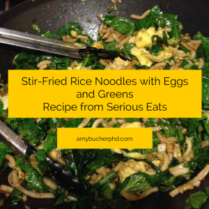 Stir-Fried Rice Noodles with Eggs and