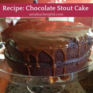 Recipe- Chocolate Stout Cake
