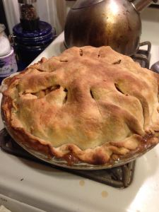Ta-da! Finished, baked pie!