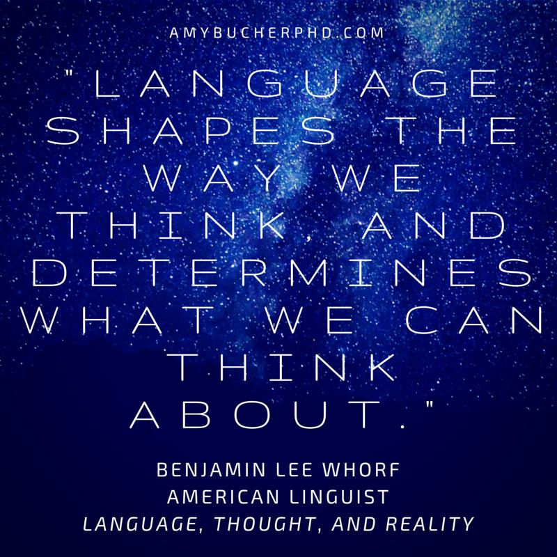 does language shape thought
