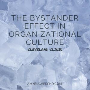 The Bystander Effect in Organizational
