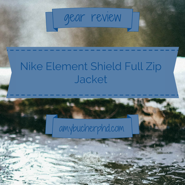 407ed6707b3a Gear Review  Nike Element Shield Full Zip Jacket
