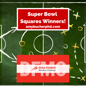 Super Bowl Squares Winners!