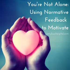You're Not Alone- Using Normative