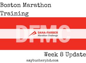 Boston Marathon Training