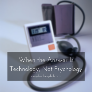 When the Answer Is Technology, Not