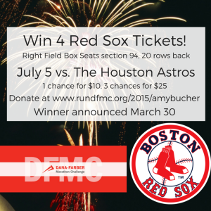 Win 4 Red Sox Tickets!