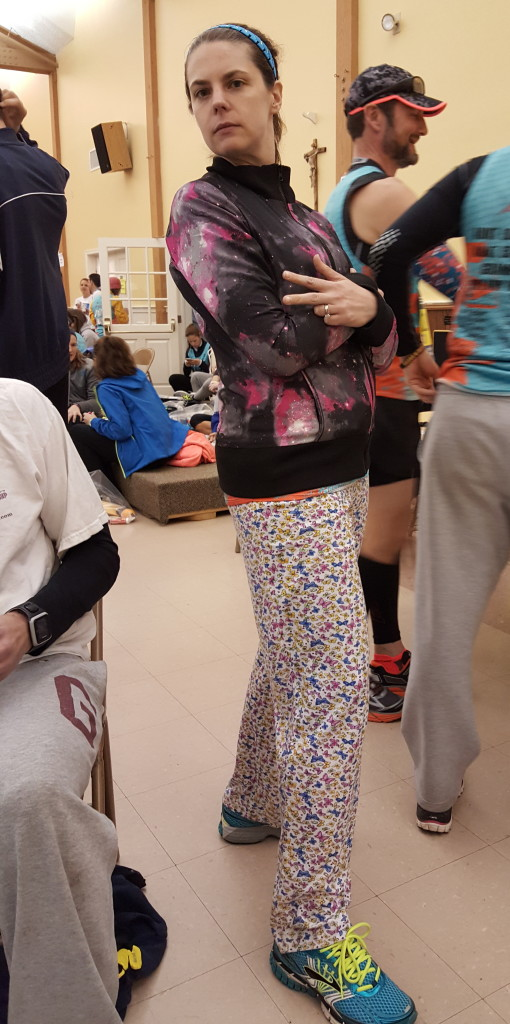Somehow the Galaxy bomber jacket and overly large butterfly pj pants did not net me the win!!