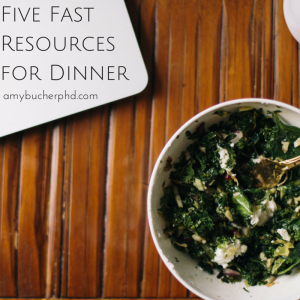 Five Fast Resources for Dinner
