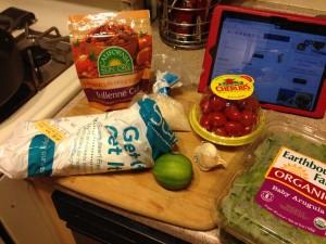 Ingredients line-up