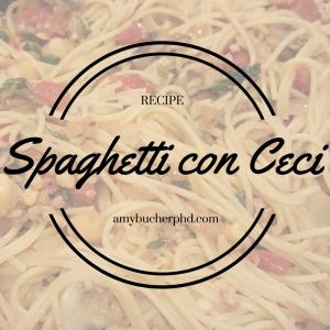 Spaghetti con Ceci