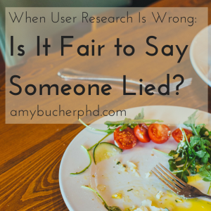 When User Research Is Wrong-