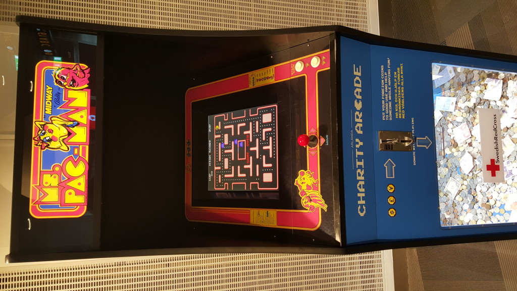 Ms. Pac-Man transcends language barriers.