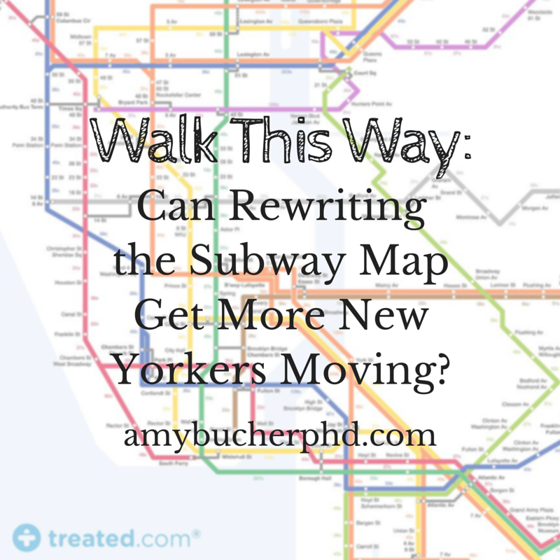 Sidewalk Subway Map Nyc.Walk This Way Can Rewriting The Subway Map Get More New Yorkers