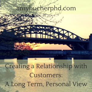 Creating a Relationship with Customers
