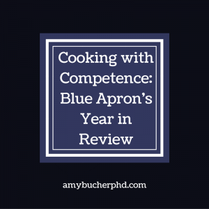 Cooking with Competence-Blue Apron's Year in Review
