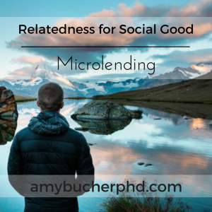 Relatedness for Social Good- Microlending