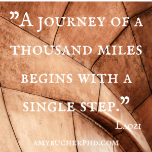 -A journey of a thousand miles begins with a single step.-