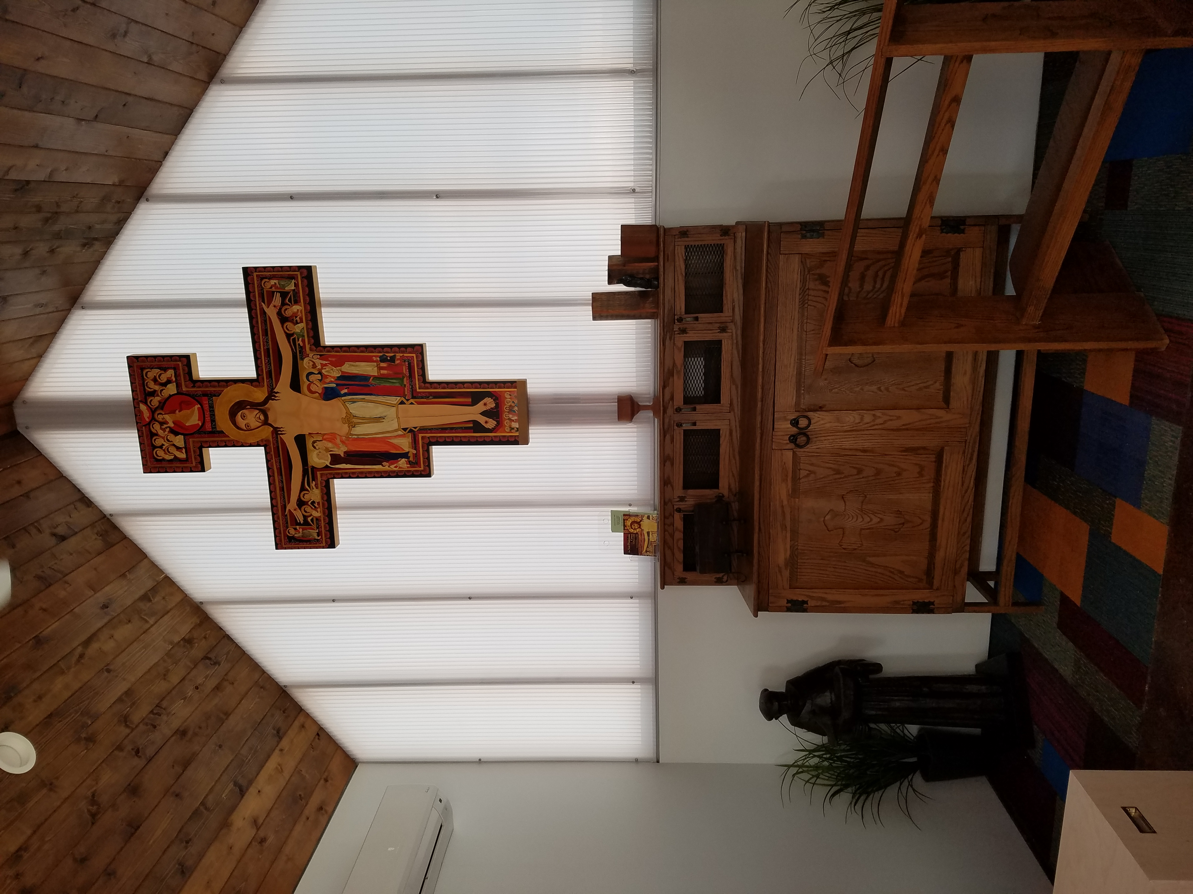The chapel at Community First! Village